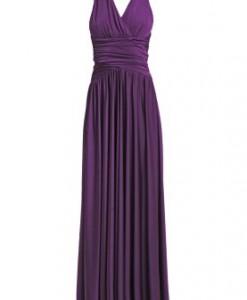 CoutureOne REBECCA Maxi jurk lila 1