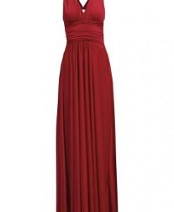 CoutureOne REBECCA Maxi jurk rot 1