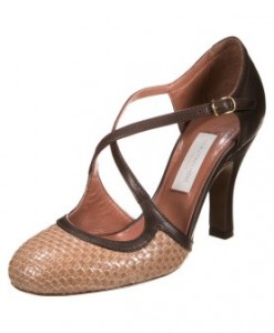 D'Archive by L'Autre Chose Klassieke pumps hazelnut 1