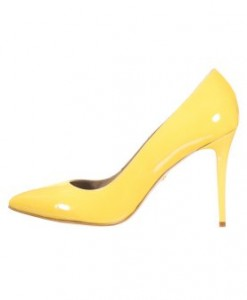 Just Cavalli Klassieke pumps yellow 1