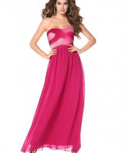 LAURA SCOTT Gala jurk met gedrapeerde bustier 1