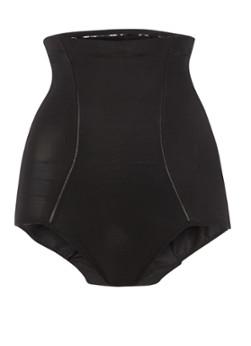 Maidenform Flexees hi-waist slip Power Slimmers, zwart 1