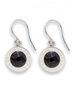Oorhangers, Jewels by Leonardo, 'Matrix zwart' 1