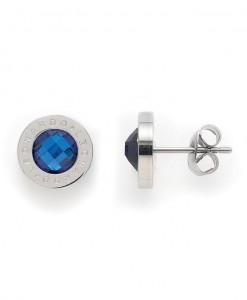 Oorstekers, Jewels by Leonardo, 'Matrix blauw' 1