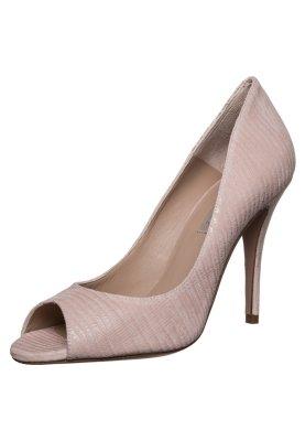 Pura Lopez Peeptoes lucertola soft pink 1