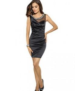 Satijnen jurk 1