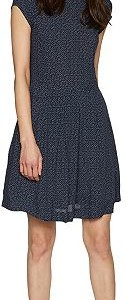 TOM TAILOR Jurk printed fabric mix dress 1